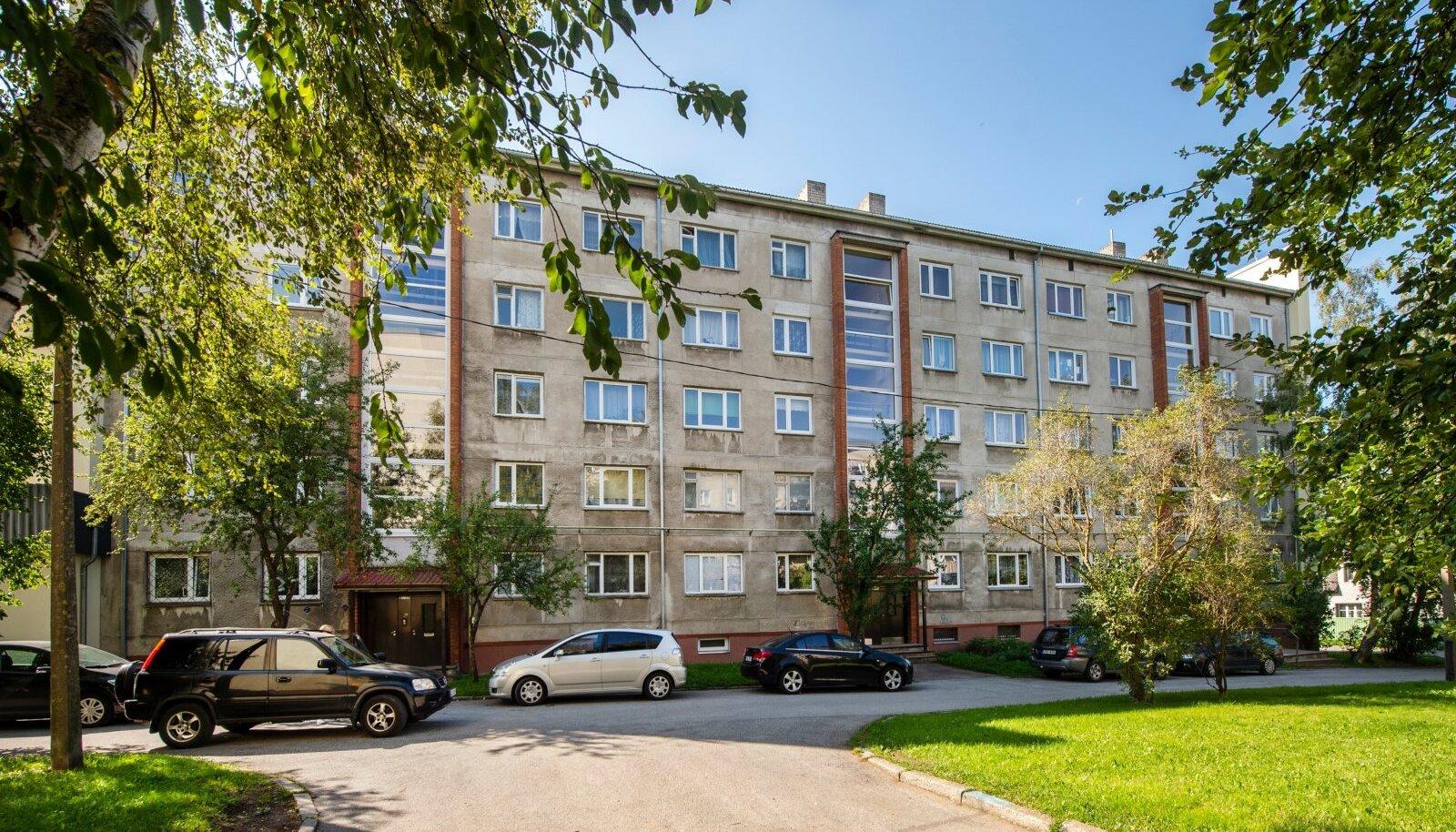 TAVALINE ELUMAJA: Sitsi 28 Tallinnas.