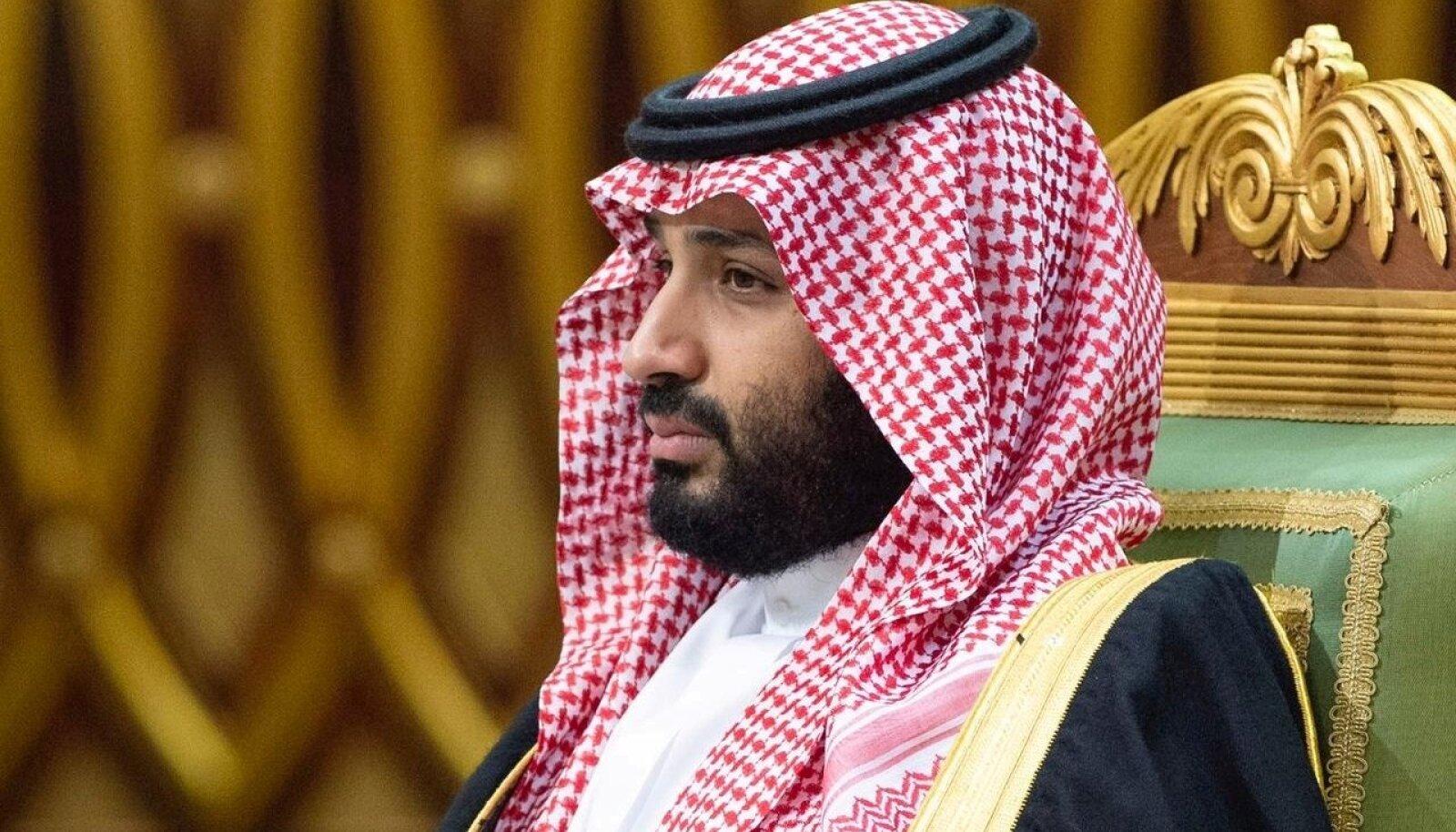 """Mõrvarprints Mohammed bin Salman ei pea esialgu sanktsioone kartma, kuid USA lubab suhteid veelgi """"rekalibreerida""""."""