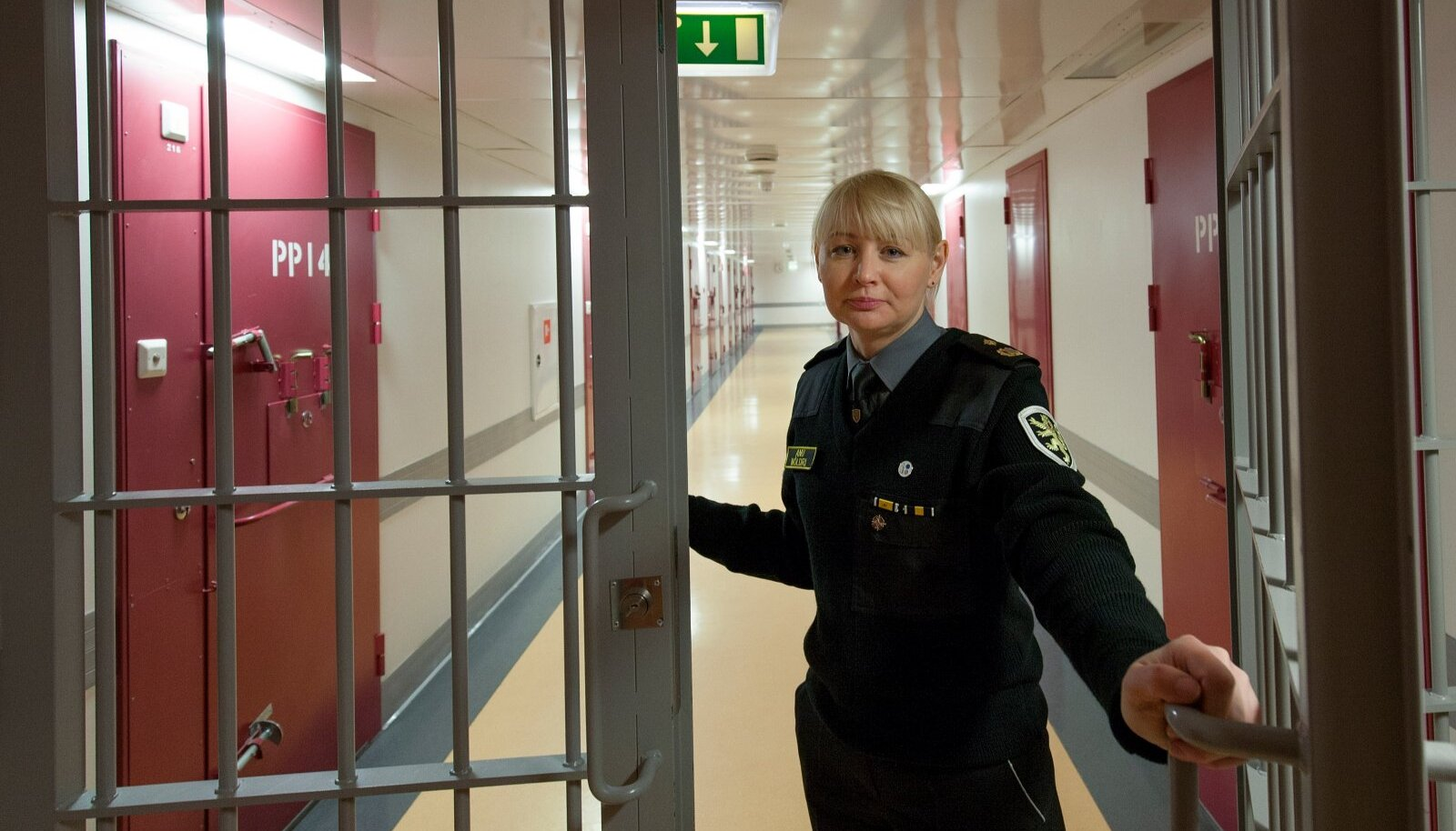Cотрудник Вируской тюрьмы Ану Мёльдри