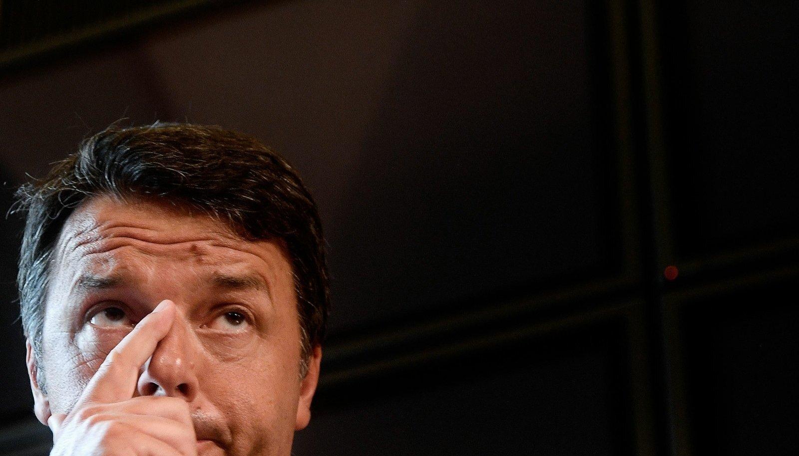 Matteo Renzi hoiatab, et praegu valimisi korraldades ootaks Itaaliat majanduslangus.