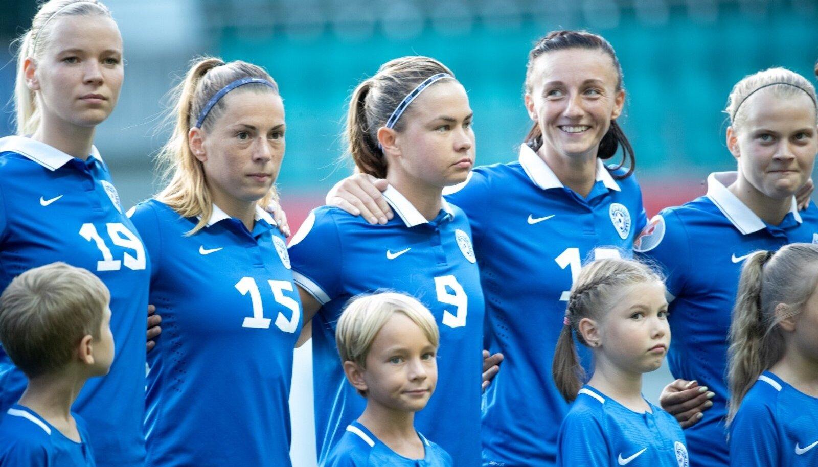Naiste jalgpall Eesti vs Holland