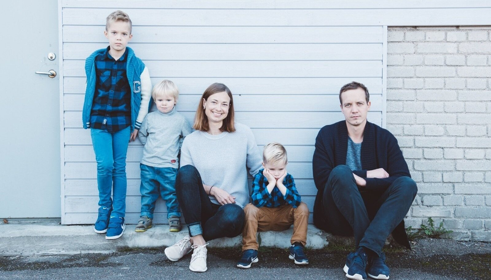 EV100 Peret Anna ja Eigo Siimu, pojad Georg, Kristjan ja Markus