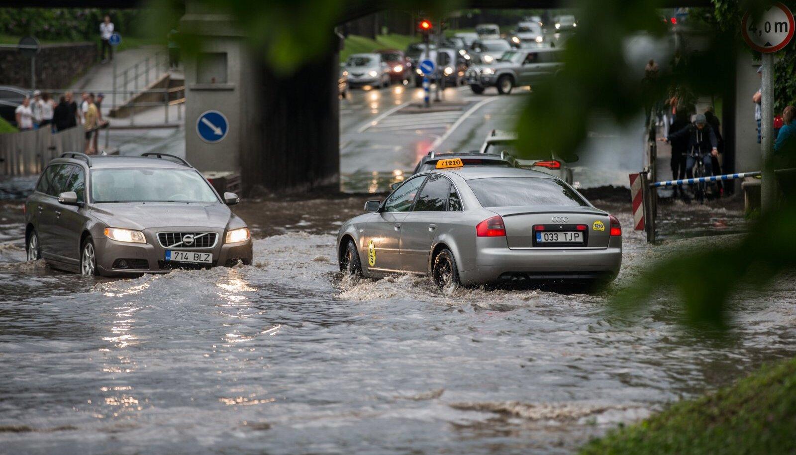 Teadlaste sõnul üleujutused on ja jäävad, lahti me neist ei saa. Oluline on hoopis see, kui hästi me nendeks valmis oleme.