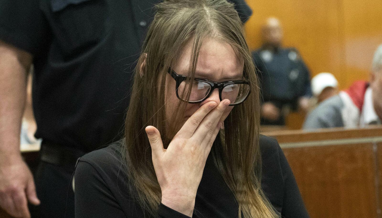 Inetu tõde jõudis ilmavalgele: Anna Sorokin puhkes nutma 2019. aastal New Yorgi Osariigi Üemkohtus
