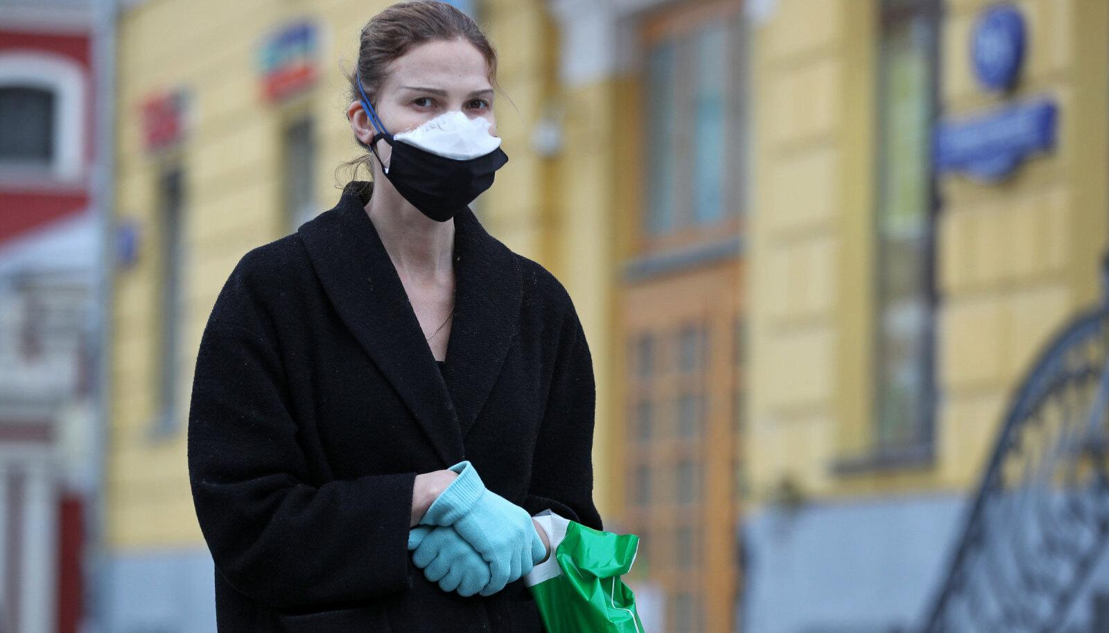 Пешеход в Москве