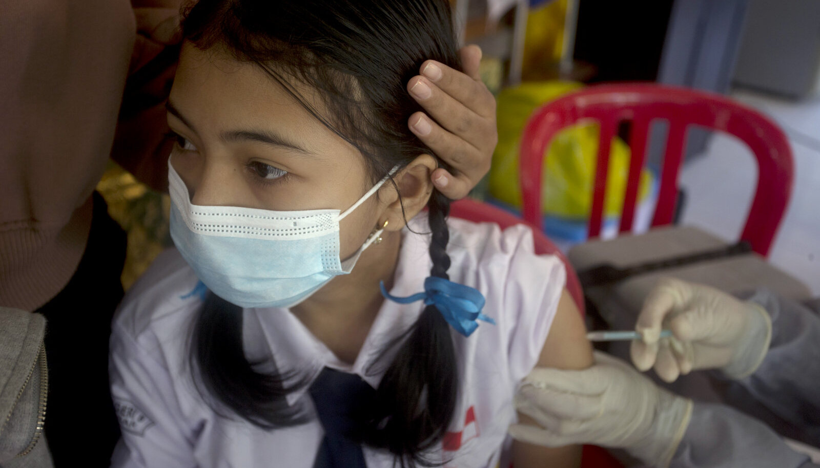 Hiina Sinovaciga korraldatakse vaktsineerimiskampaaniaid ka koolides.