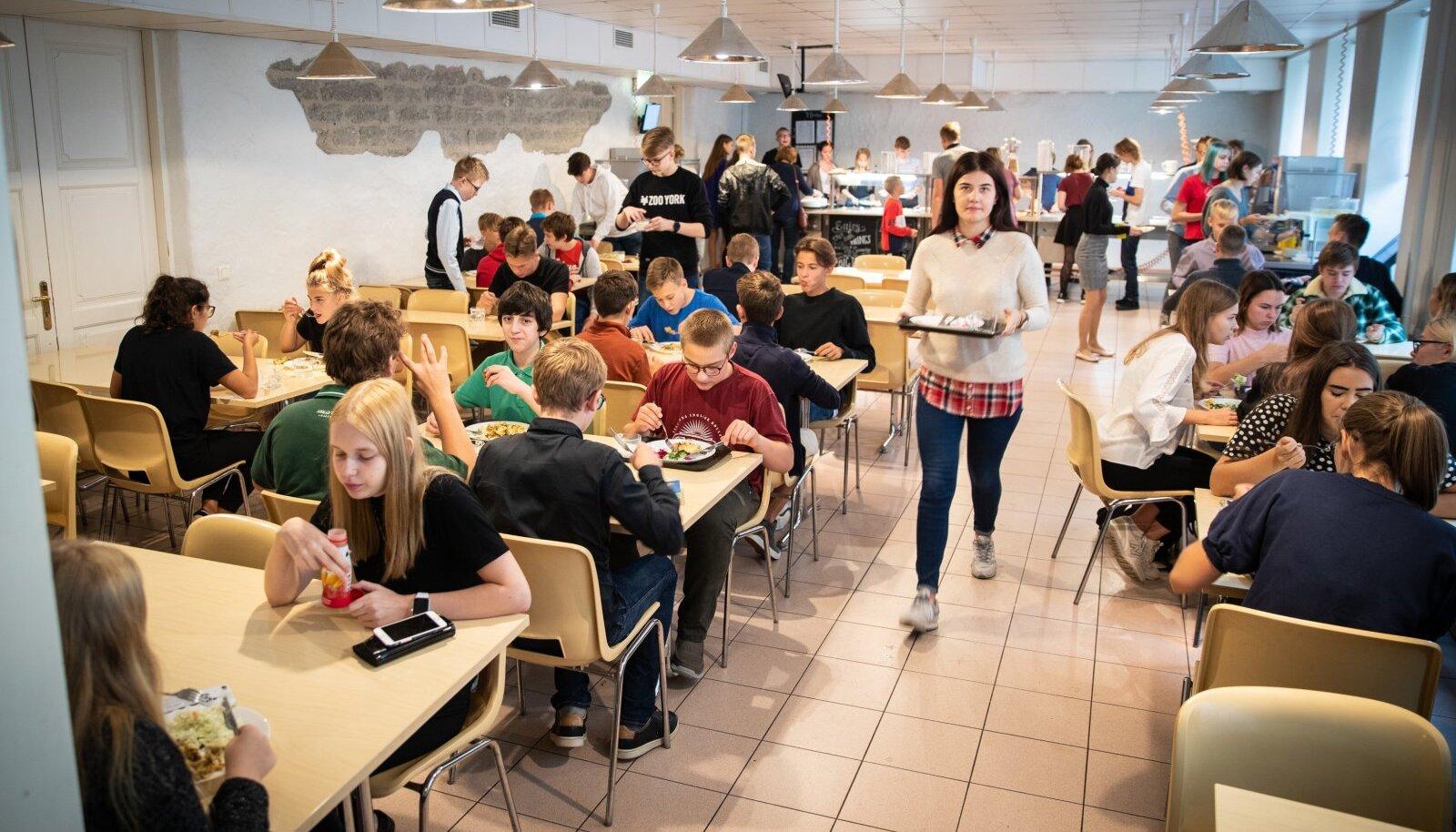 Koolisöökla (foto on illustratiivne)