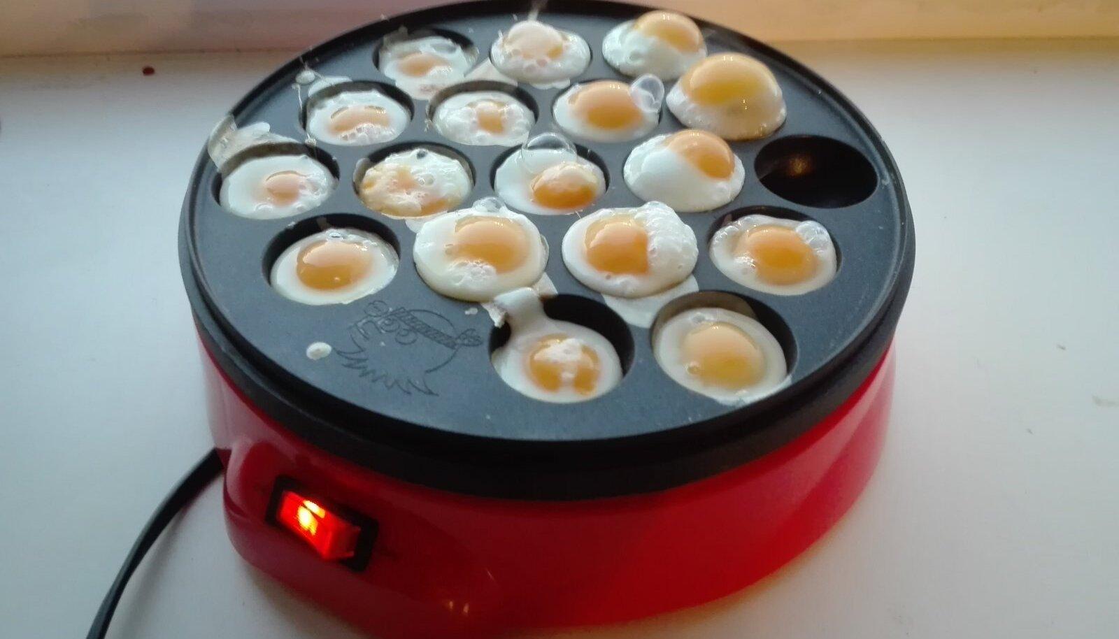 Vutimune saab küpsetada spetsiaalse elektrilise panniga.