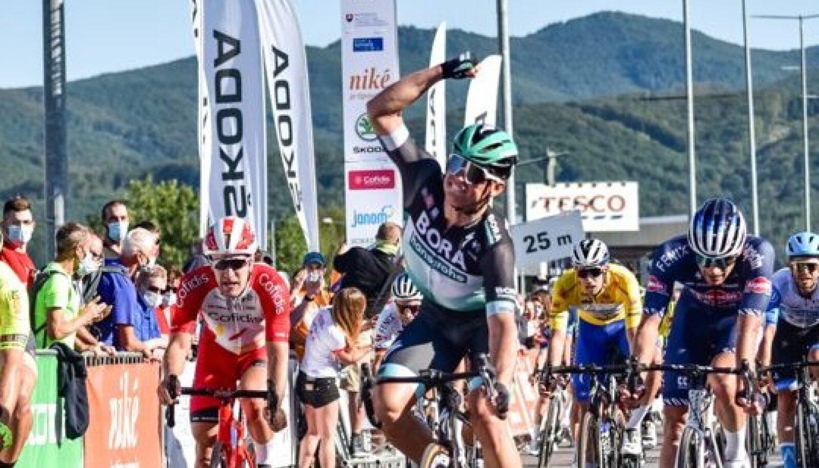 Martin Laas Slovakkia tuuri kolmandal etapil.