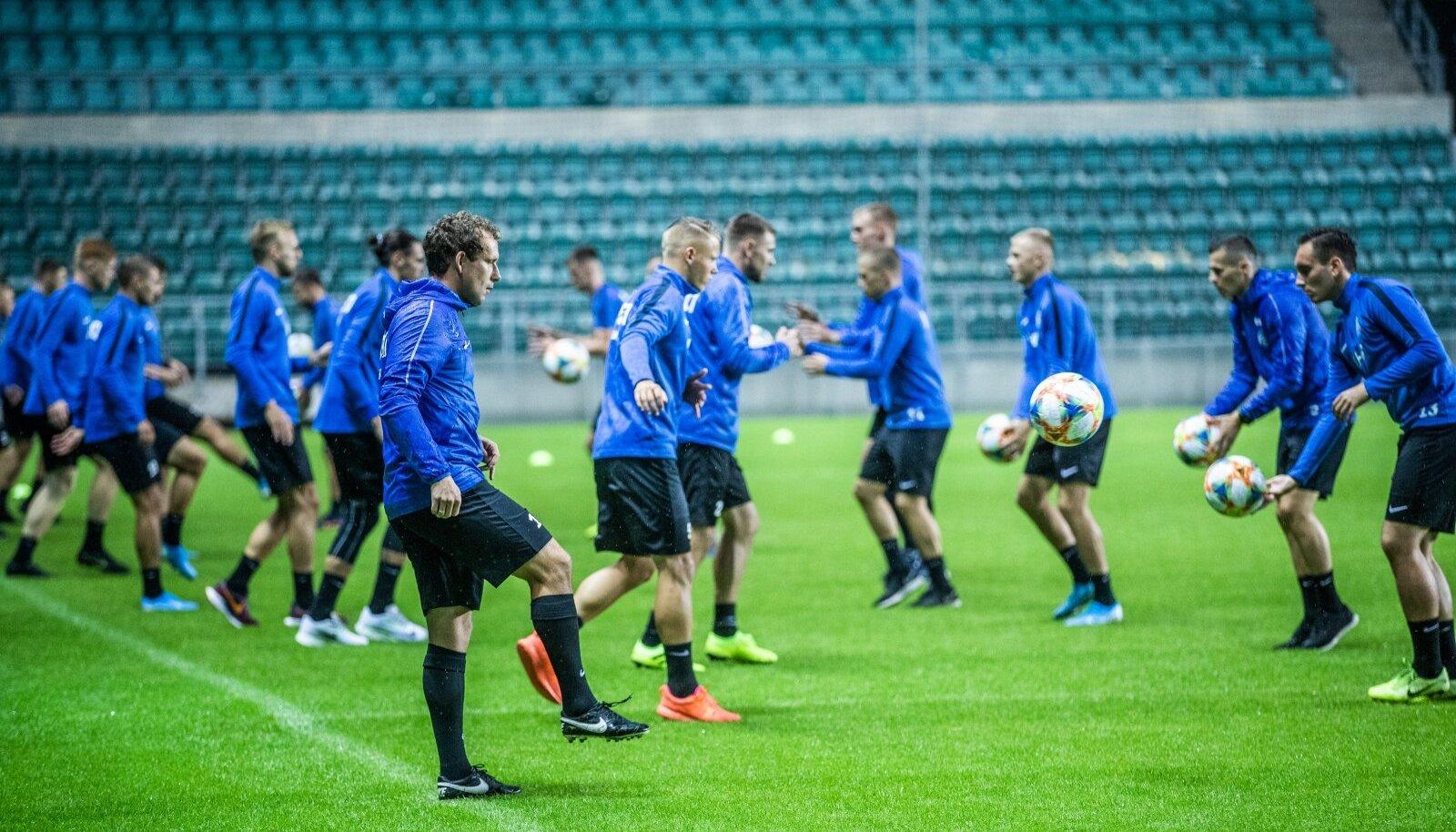 Eesti jalgpallikoondis kogunes viimati eelmisel sügisel. Esmaspäeval tullakse üle pika aja taas kokku.