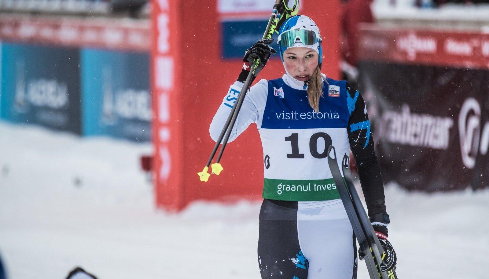 Annemarii Bendi saavutas Otepää kontinentaalkarikaetapil parimal juhul 11. koha. Võistlustules olid seejuures maailma tipud.