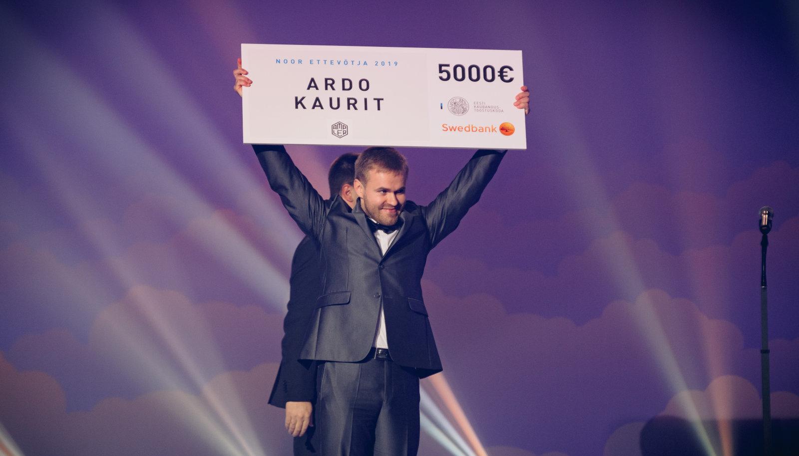 Noore ettevõtja auhinna pälvis mullu Ampler Bikesi kaasasutaja Ardo Kaurit.