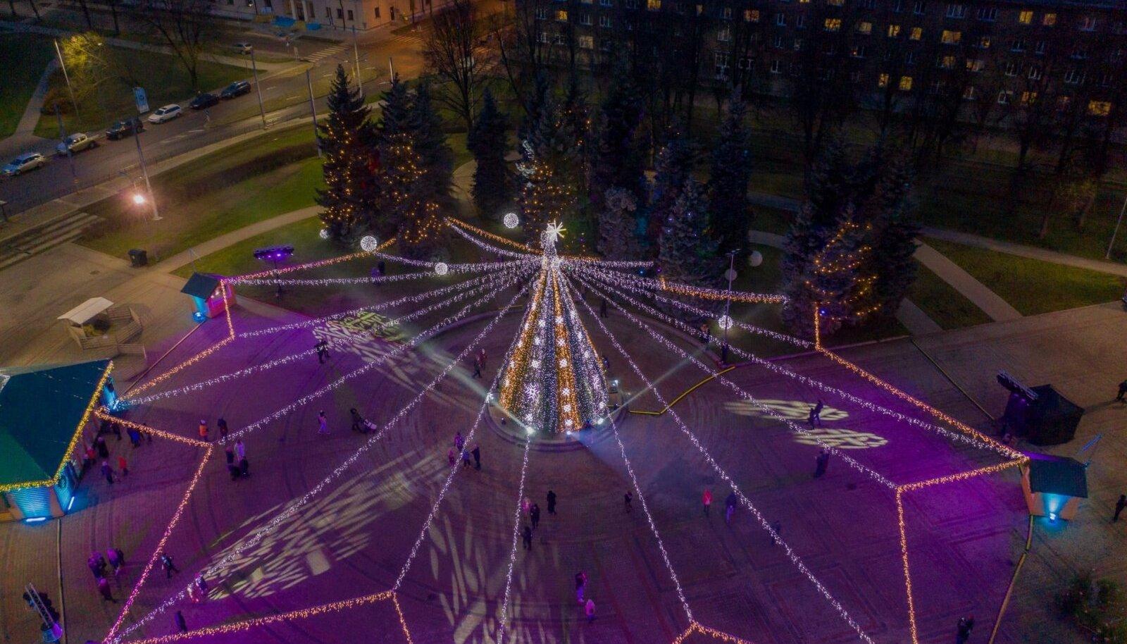 Daugavpilsi jõulupuu
