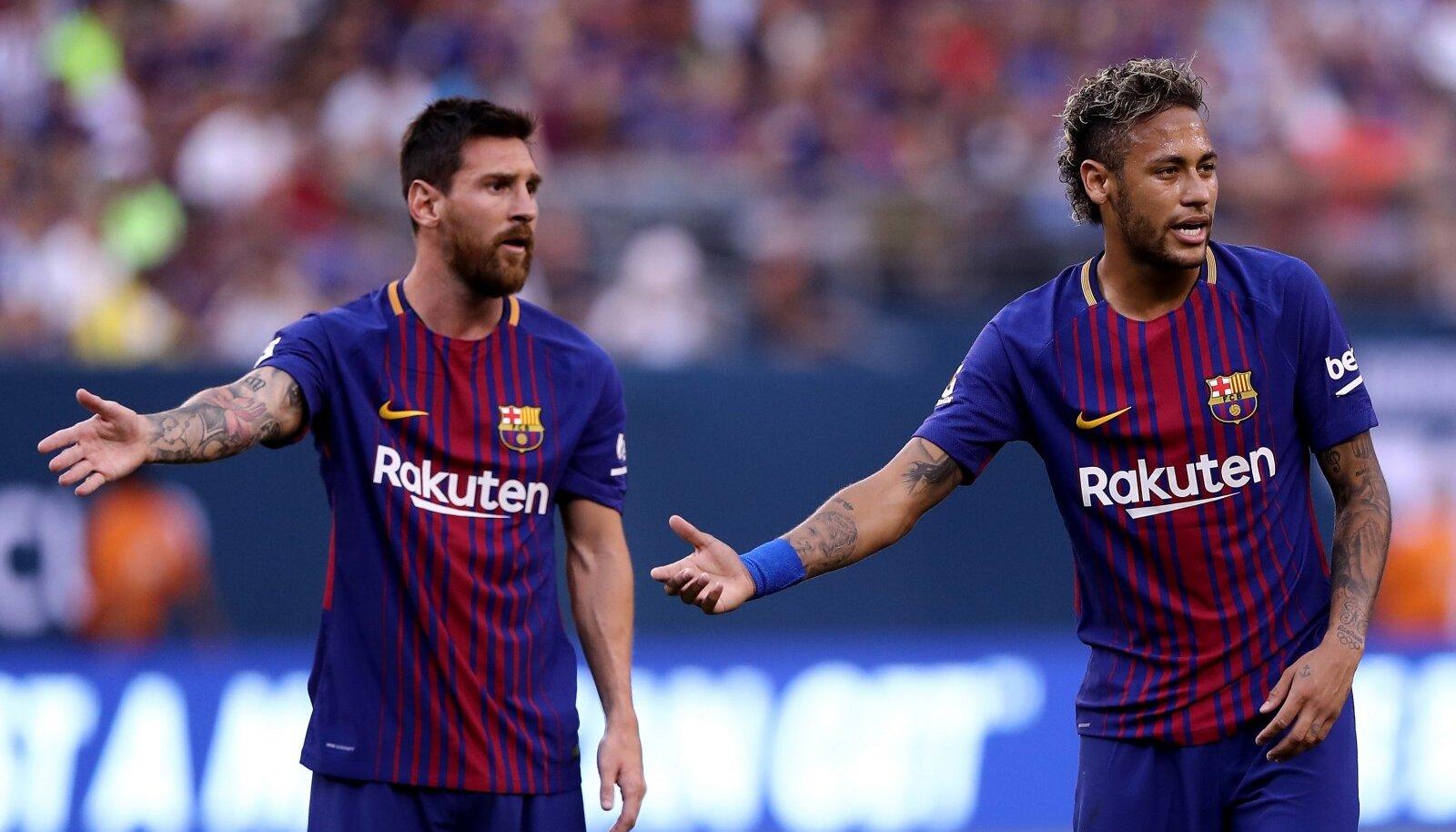 Lionel Messi ja Neymar said koos Barcelonas mängida aastatel 2013-2017.