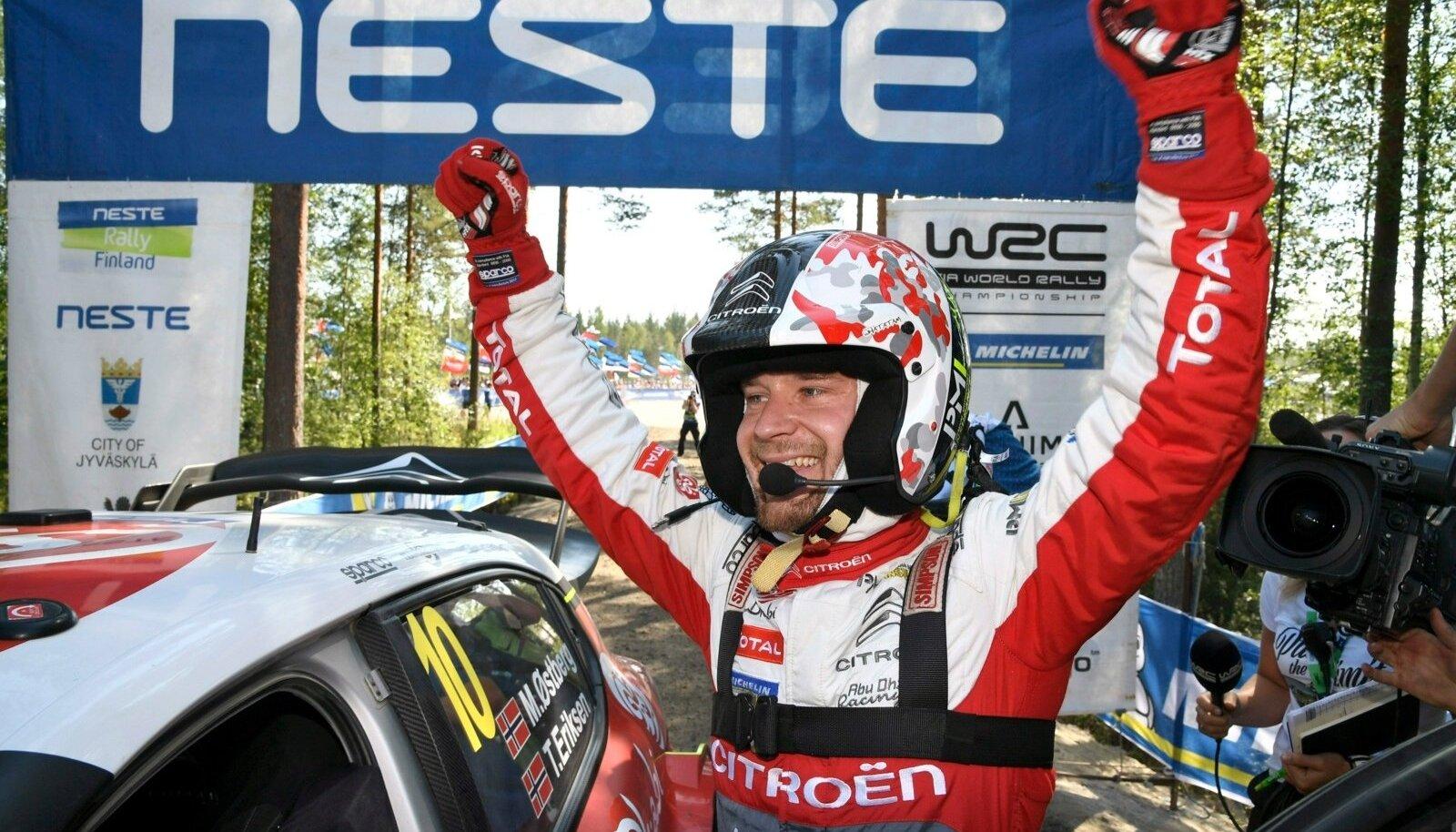 Lõppeval aastal tegi Mads Östberg enda parima esituse Soomes.