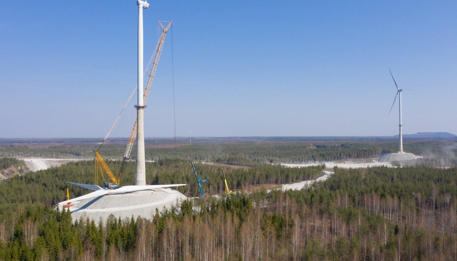 Tuulepargi rajamine
