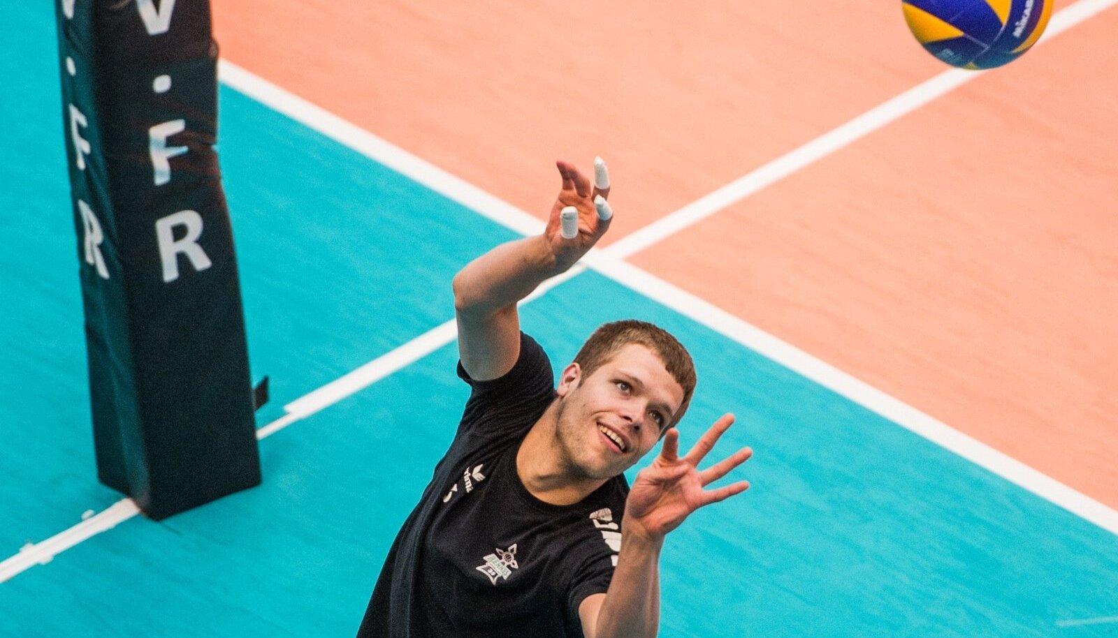 Martti Juhkami alustab neljandat hooaega välismaal.