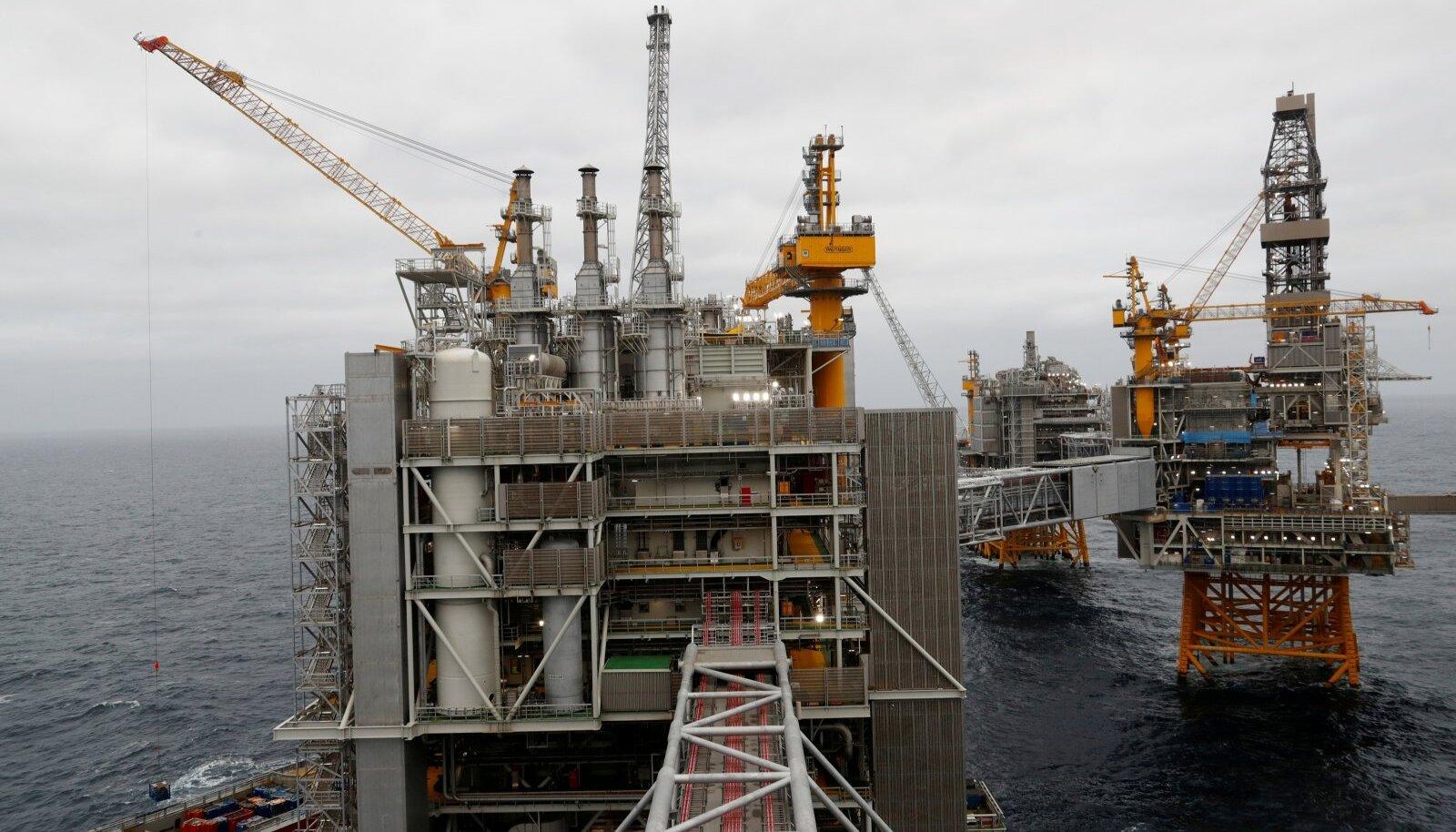 Naftaplatvormid Põhjamerel
