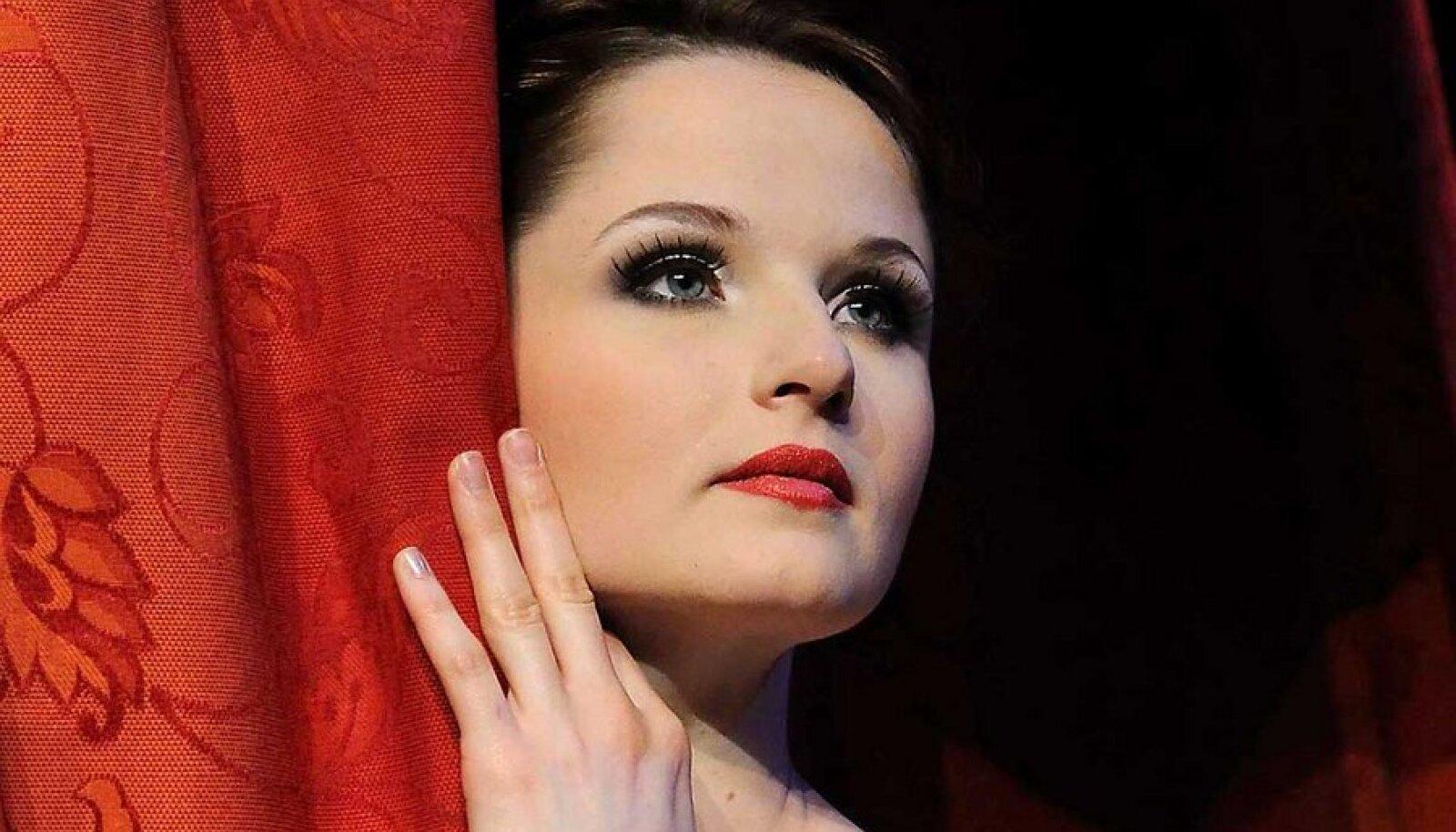 "Alena Shkatula nimiosas balletis ""Manon""."
