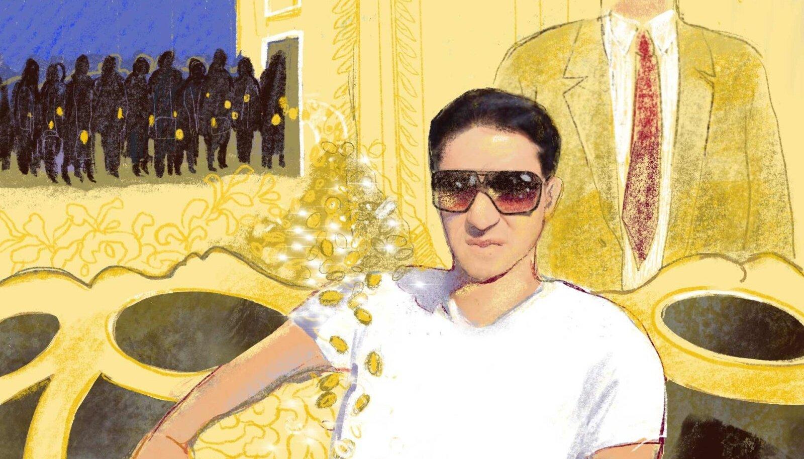 Türkmenistani presidendi nõbu Hajymyrat Rejepov armastab uhkeldada kallite käekellade, kiirete autode ja muu luksuslikuga.