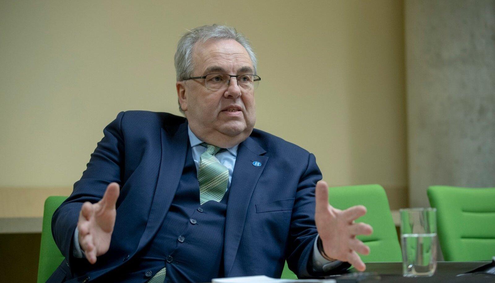 """VÄINO KALDOJA: """"Kurb ja kahju, et Eestil on sellised jamad alates rahapesust ja lõpetades selle kuradi spordiga."""