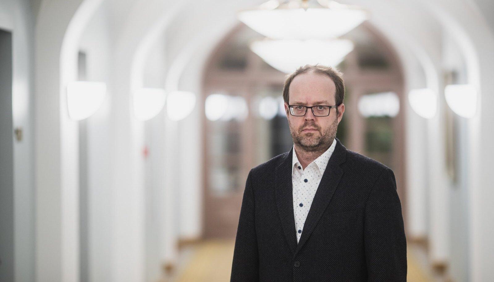 TARK MEES TARTUS: Riigikohtunik Juhan Sarv.