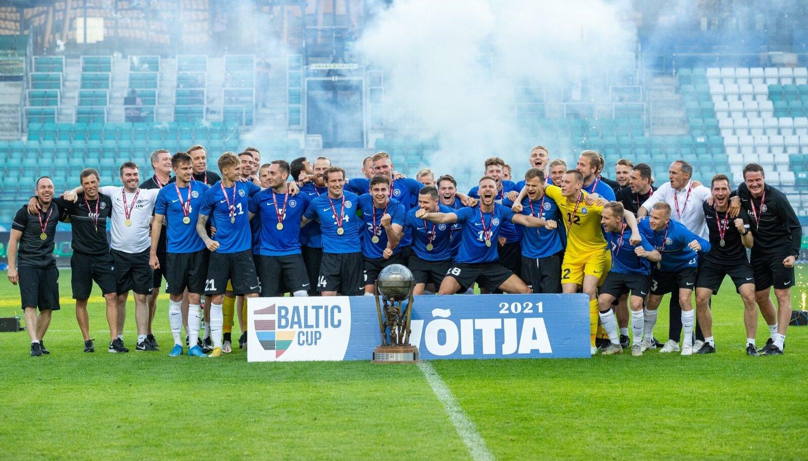 Eesti jalgpallikoondis.