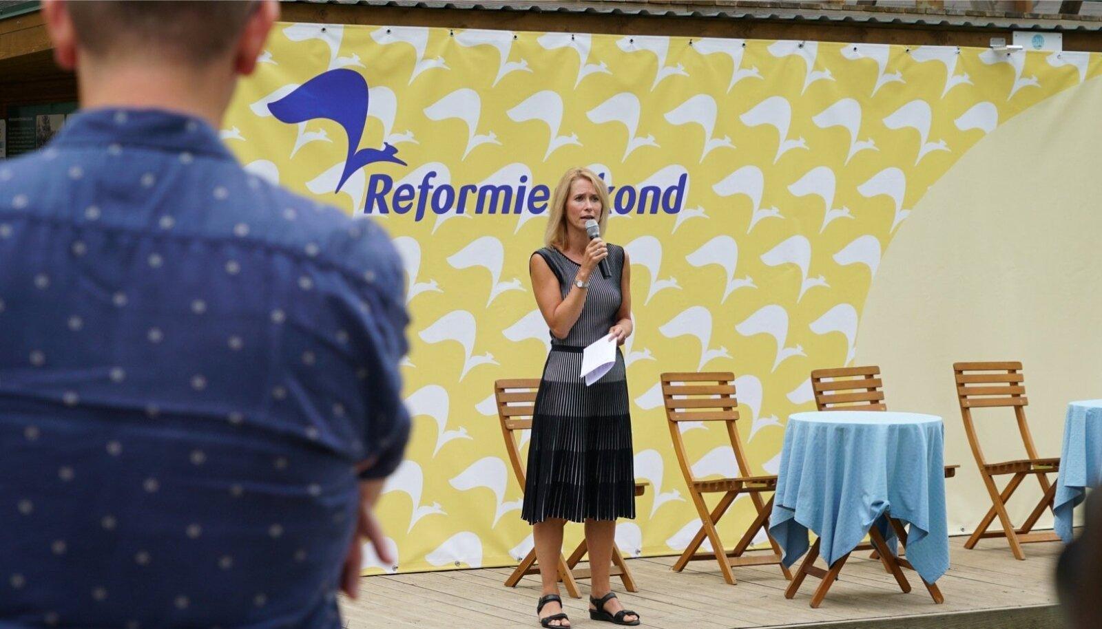 Reformierakond pidas suvepäevi