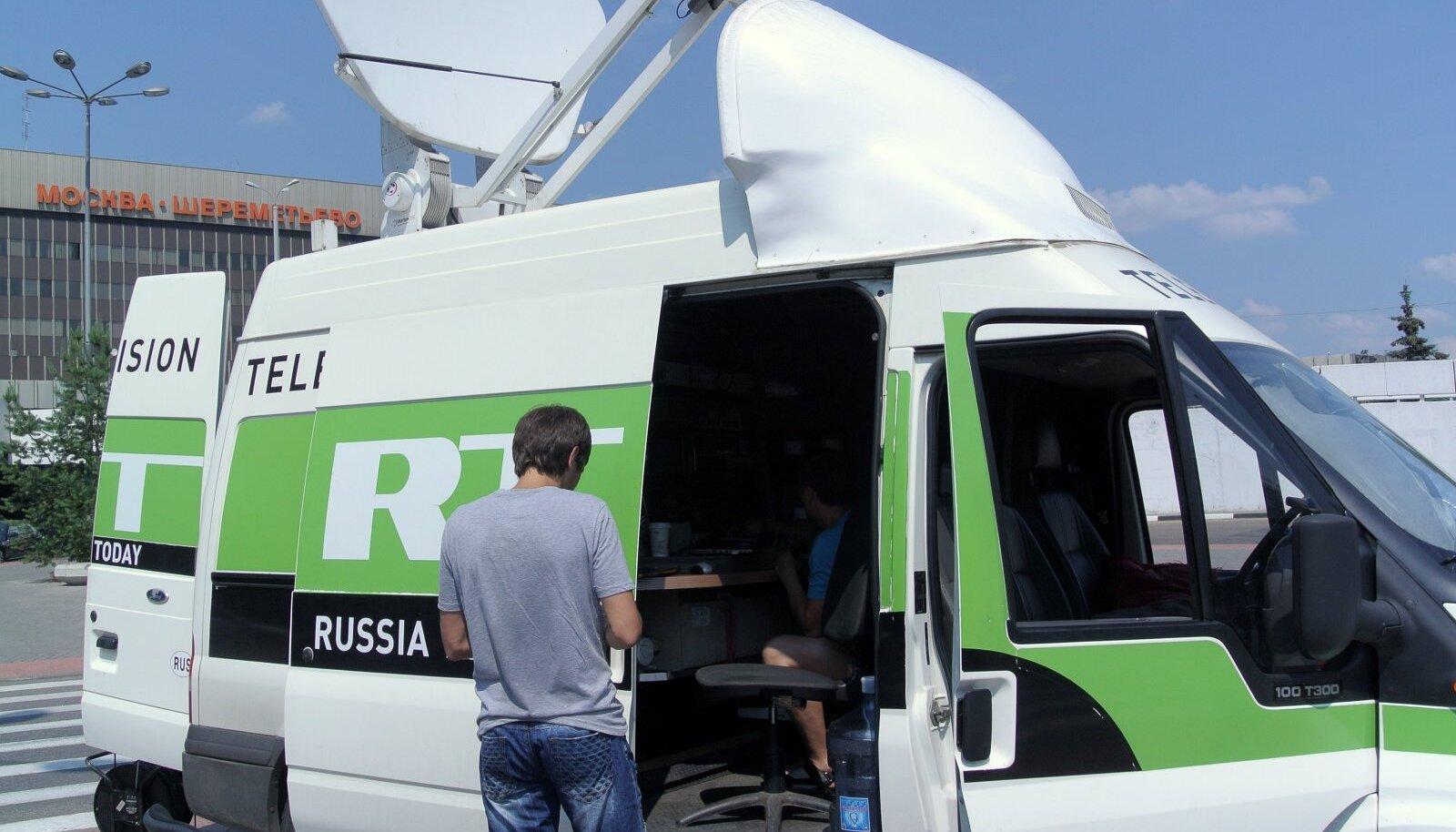 Russia Today töötamas