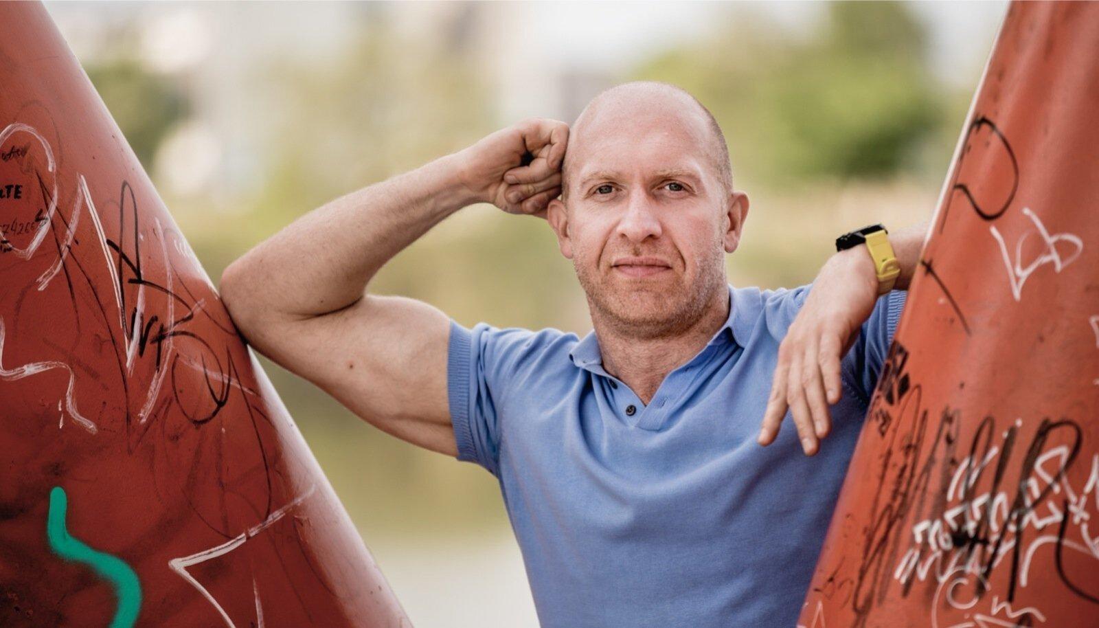 """""""Olen piisavalt edukas, sest saan teha seda, mida tahan ja millal tahan,"""" ütleb  Erik Orgu oma elujärje kohta."""