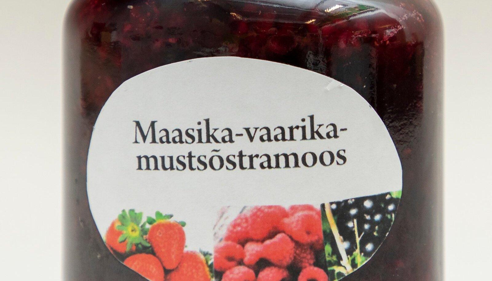 Mati Ehasalu maasika-vaarika-mustasõstramoos