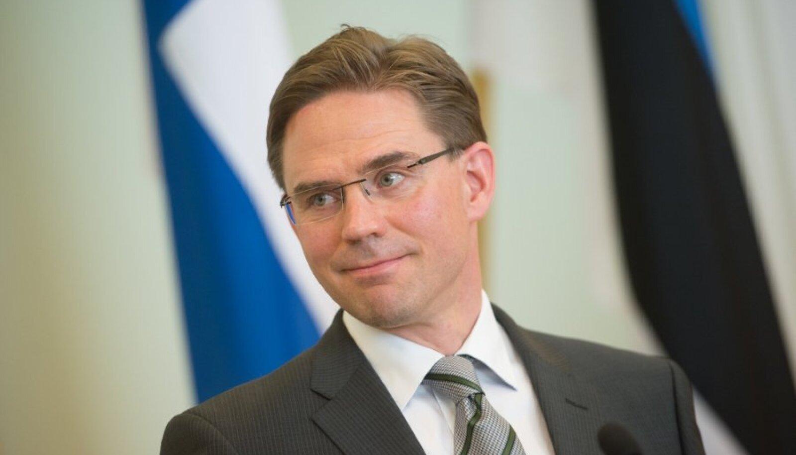 Jyrki Kataineni vastutusalas on majandus- ja rahandusküsimused ning euro.