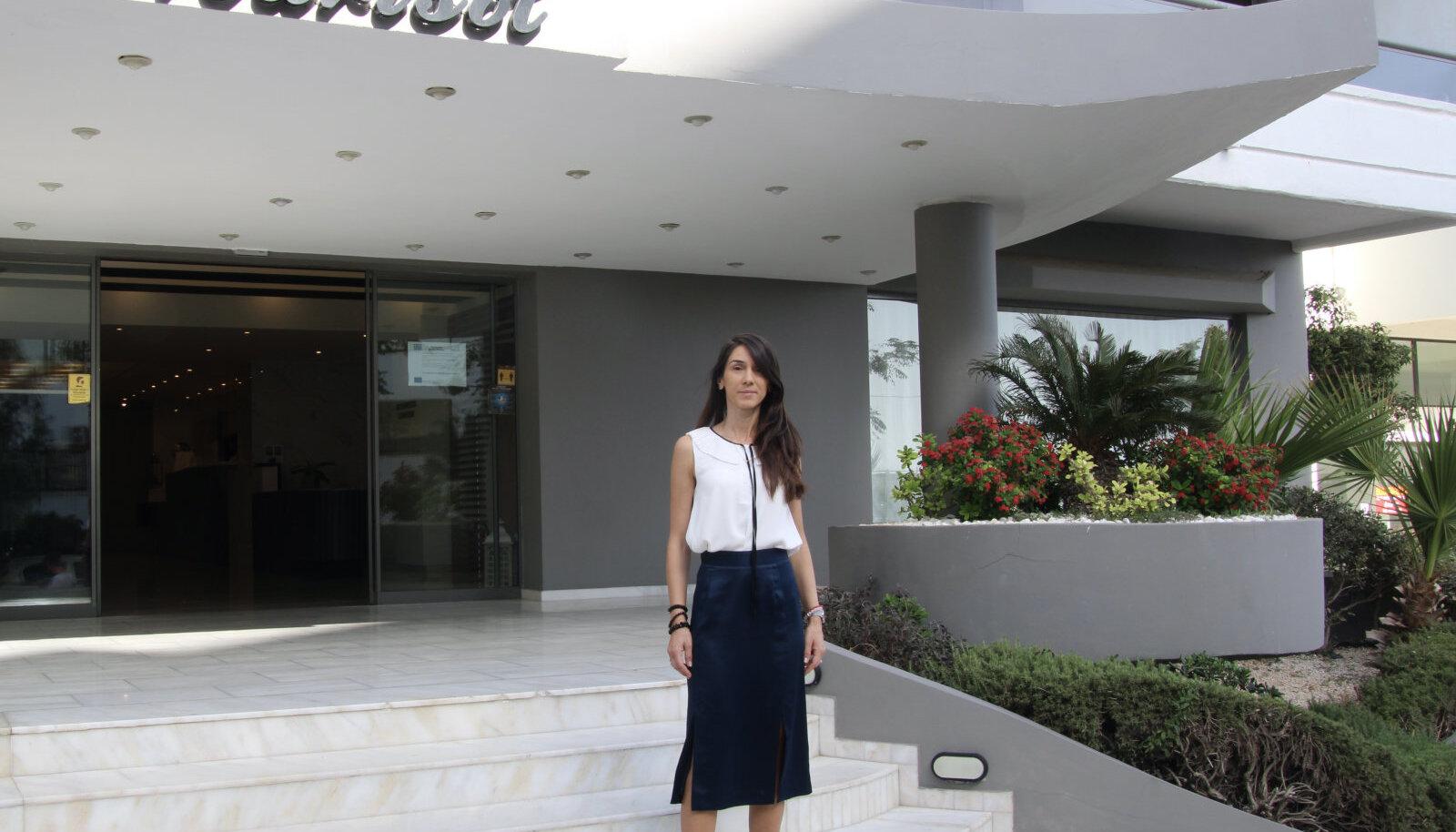 Islands Resorts Marisol hotelli vastuvõtujuht Alexandrina Tineva