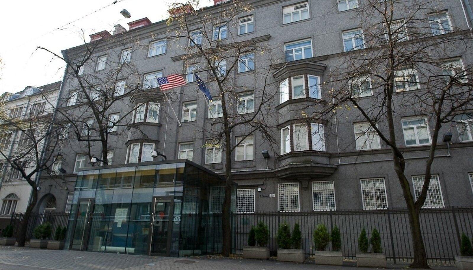 USA saatkond Kentmanni tänaval