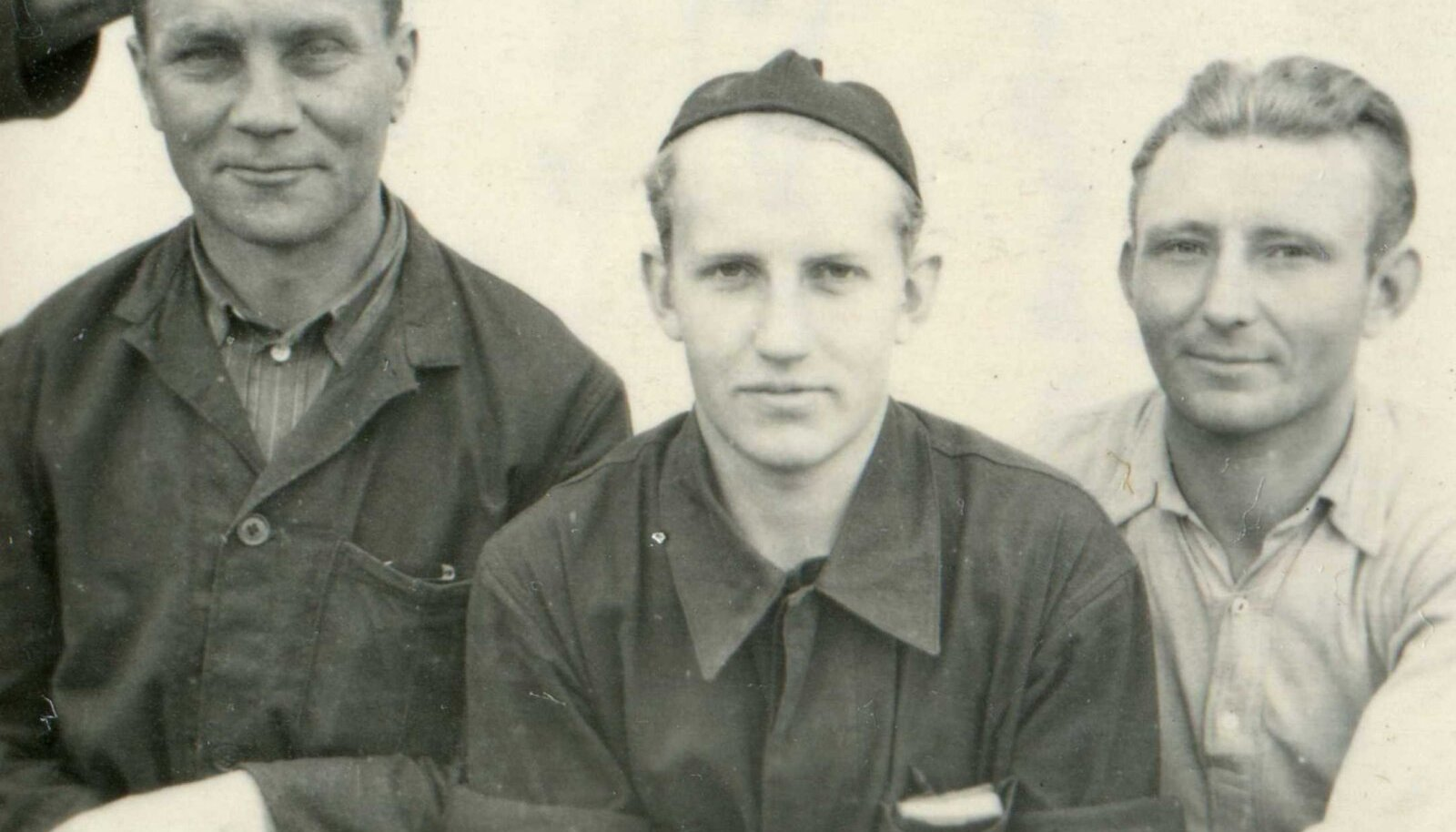 Kaljo Tamm vangilaagris 1956. aastal