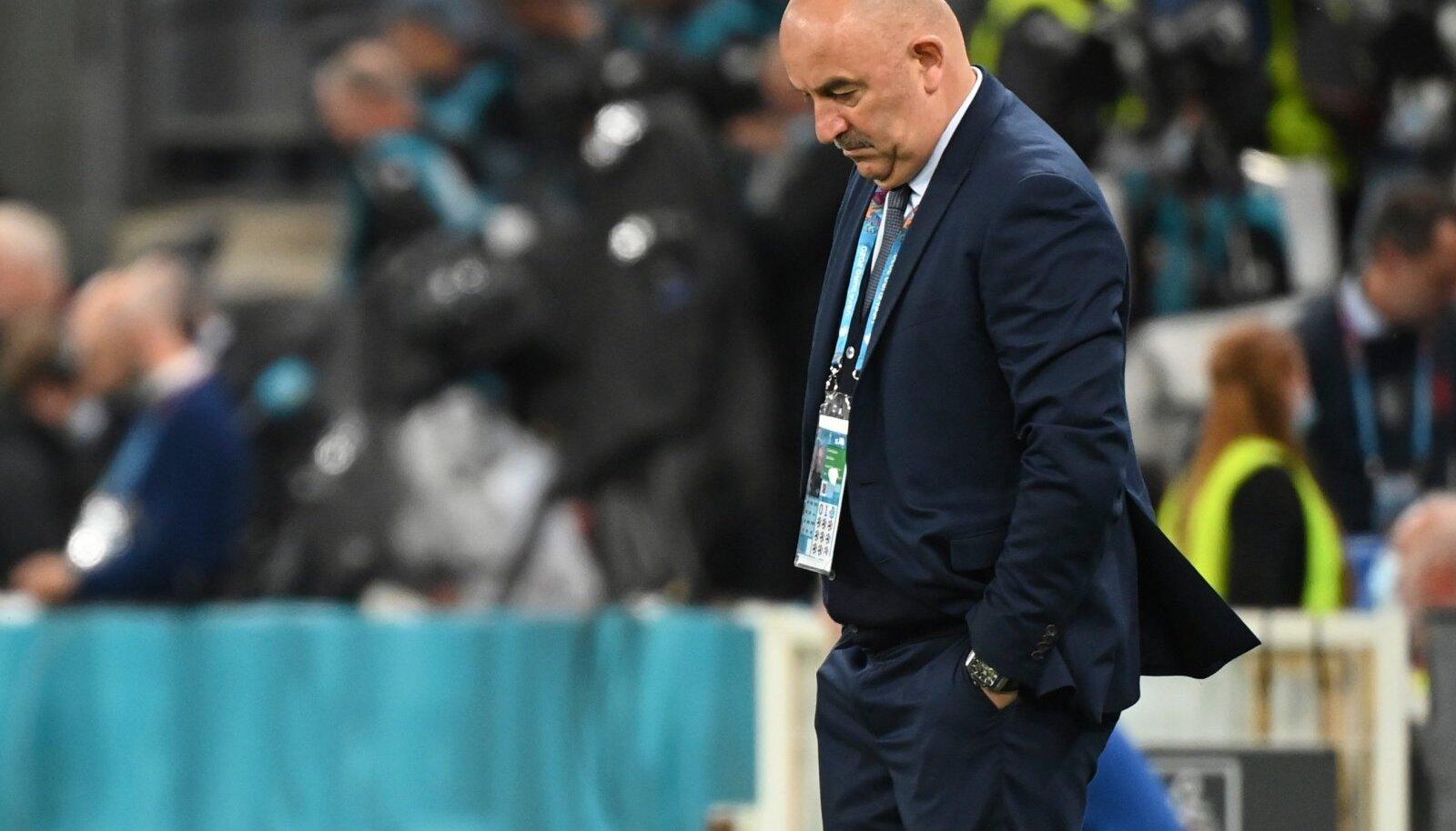 Черчесов после поражения сборной Дании