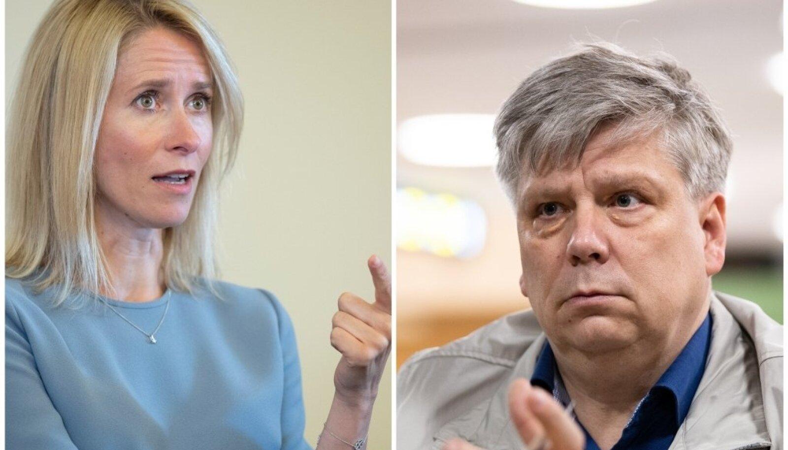 Kaja Kallas ja Siim Kiisler