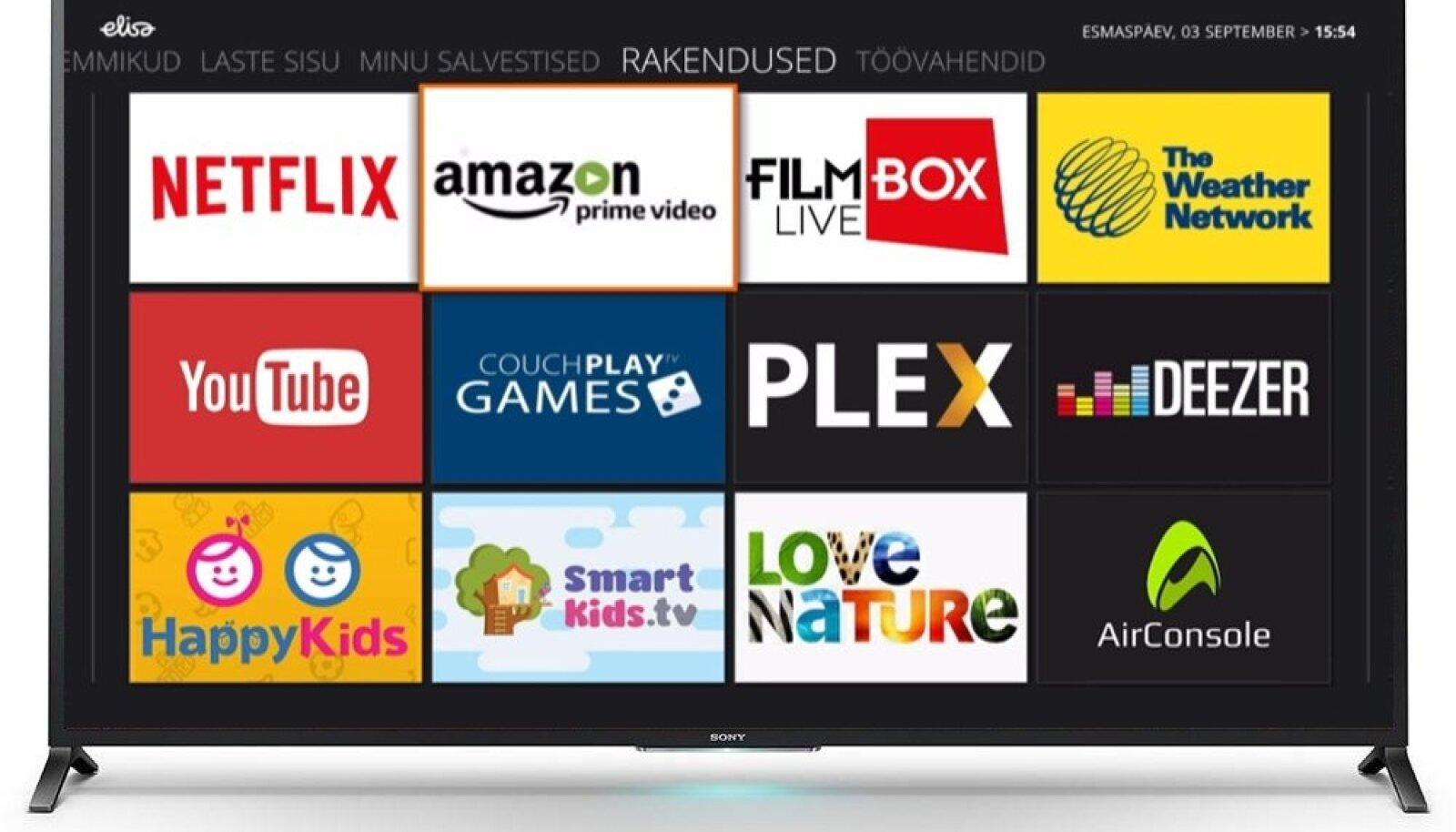 Amazon Prime Video + Elisa Elamus