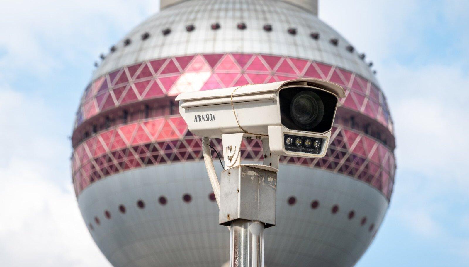 POLITSEI LEMMIK: Hiina firma Hikvision kaameraid kasutab nii Eesti politsei kui paljud teised riigiasutused.