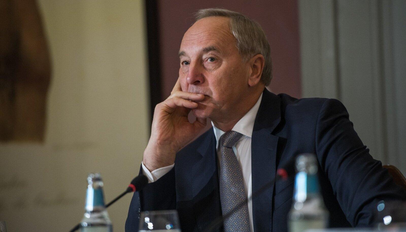 Läti president Andris Bērziņš