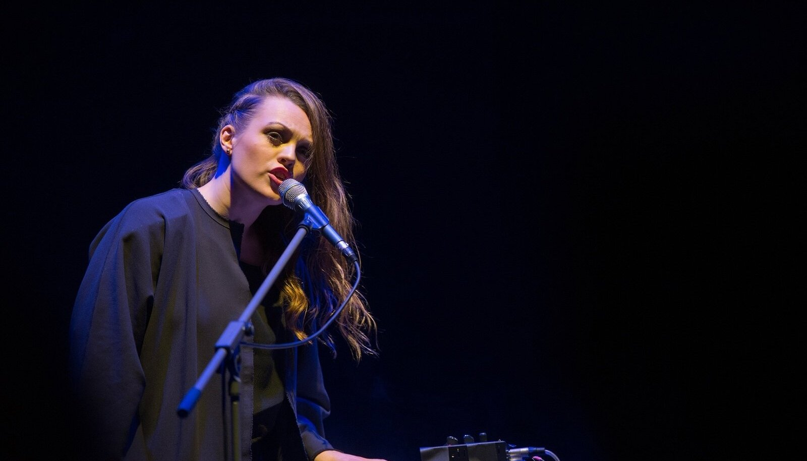 Seda, mida Ingrid Lukas nüüd tegema hakkab, sai veidi piiluda ka Tallinn Music Weekil.