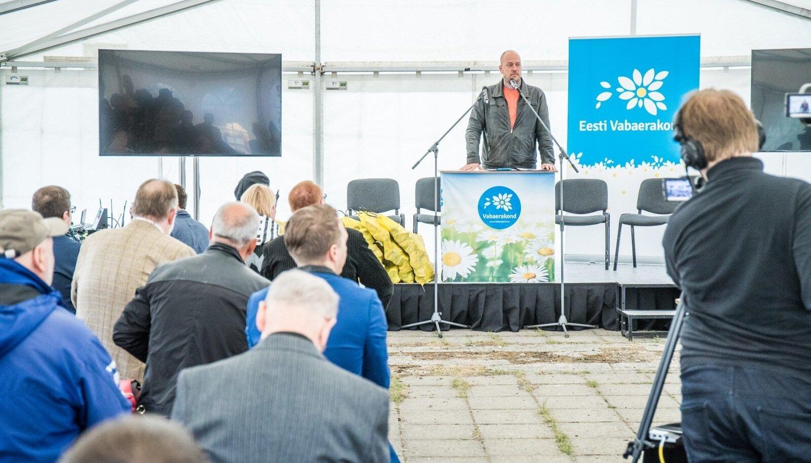 """Tallinna Korruptsioonikonverents """"Edgar läinud, pidu jätkub!"""""""