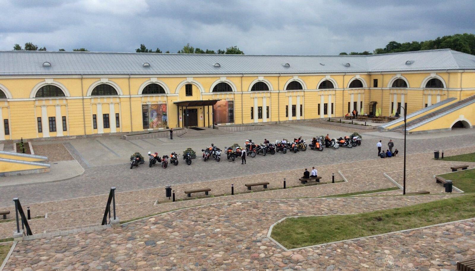 Mootorratturid Daugavpilsis