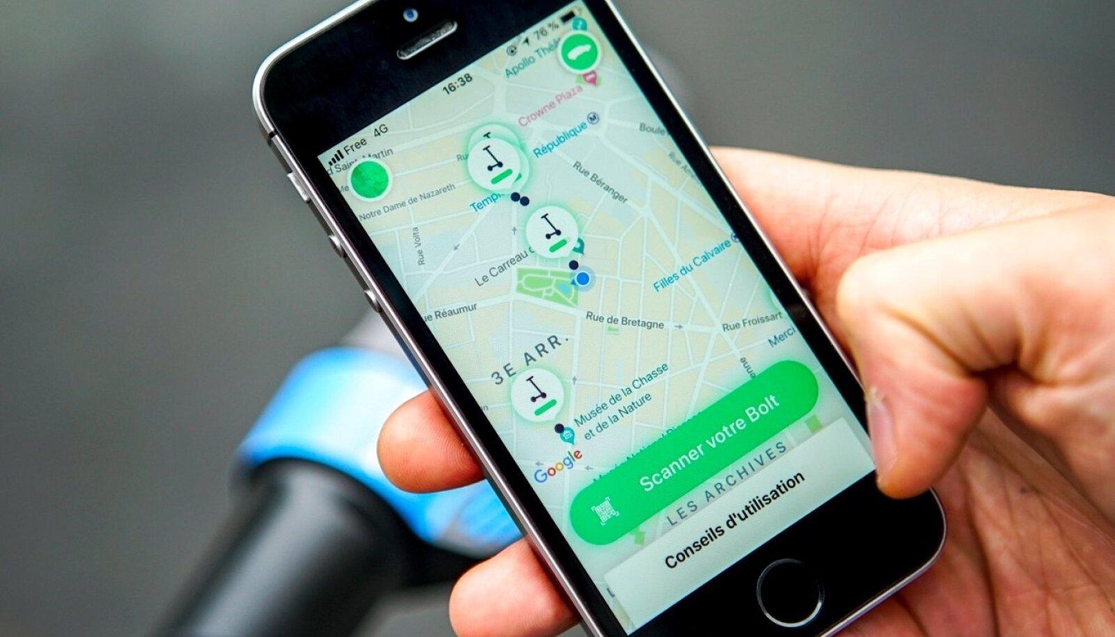 Taxify toob linnadesse elektrilised tõukerattad