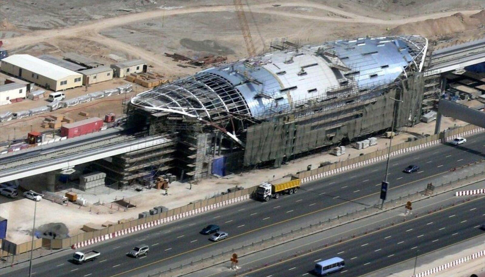 Dubai metroo ehitus. Foto: Imre Solt