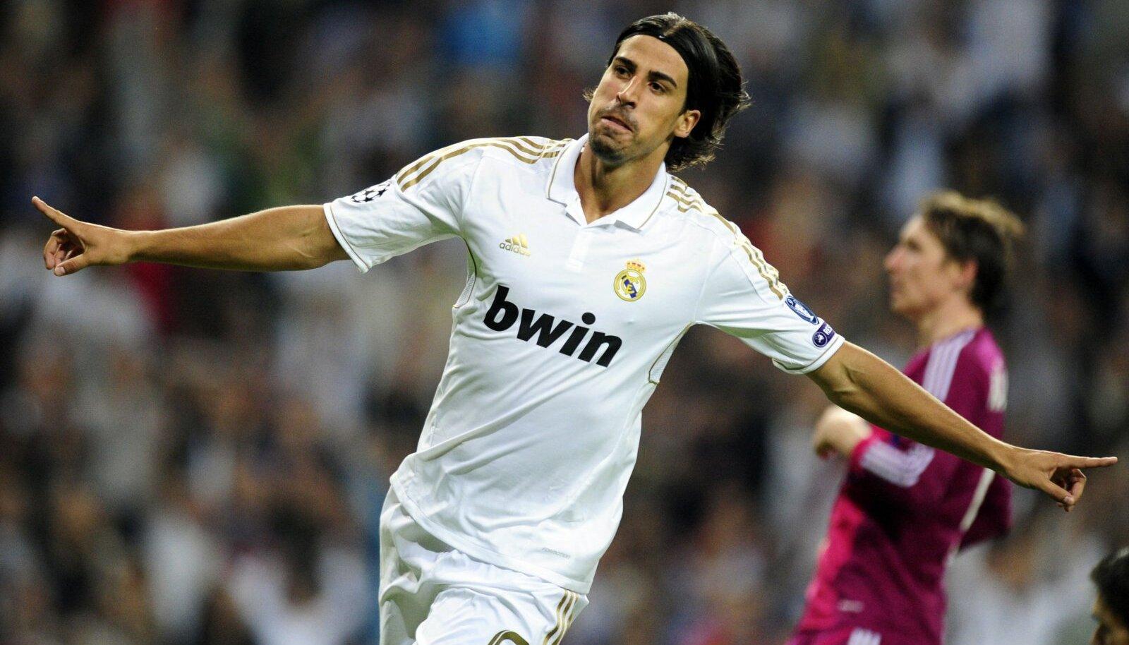 Sami Khedira 2011. aastal Madridi Reali särgis.