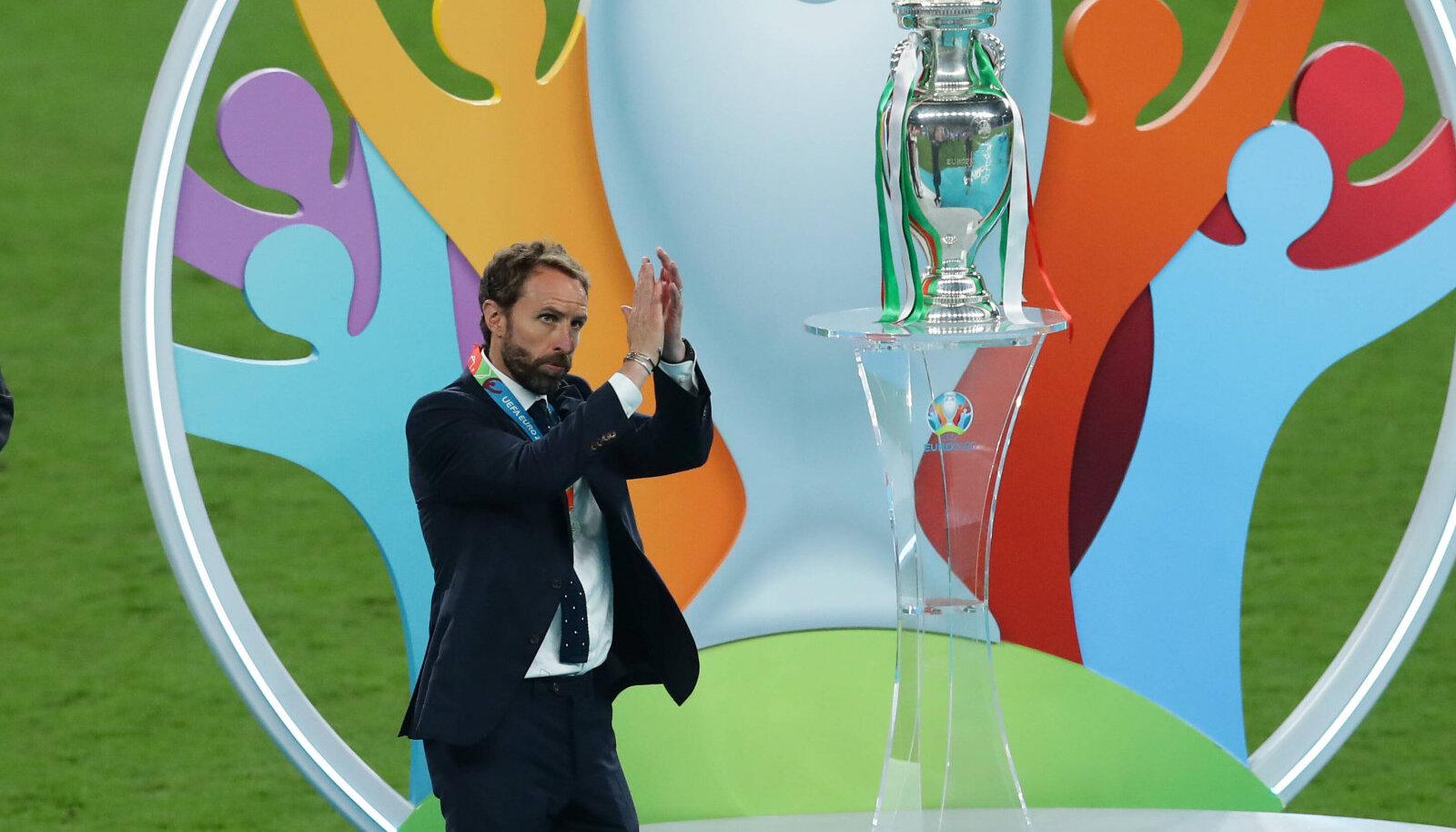 Gareth Southgate ja Co pidid finaalis Itaalialt vastu võtma kaotuse.