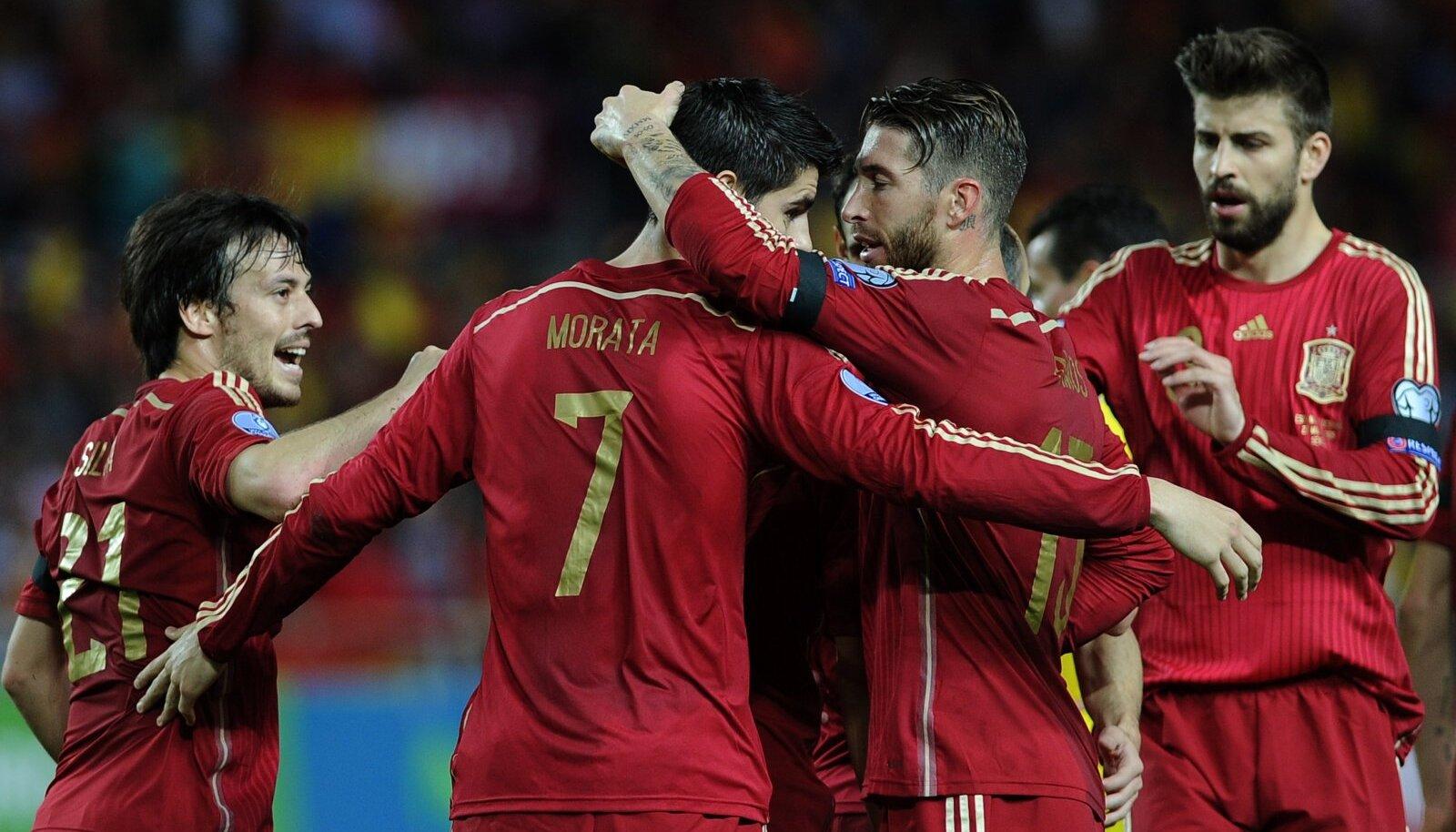Kas Hispaania suudab kolmandat korda järjest EM-tiitli kotti pista?