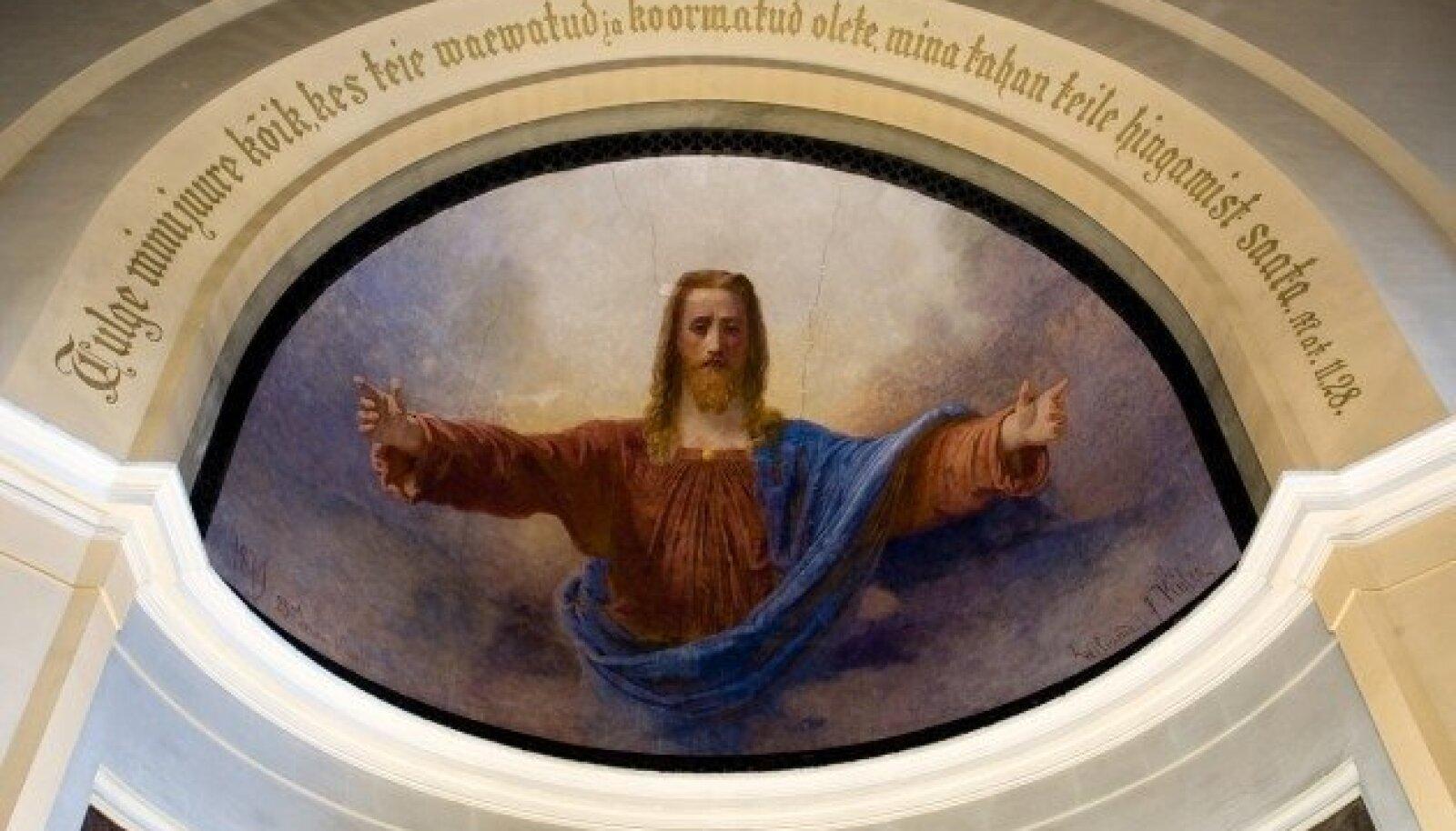 Köleri fresko Kaarli kirikus