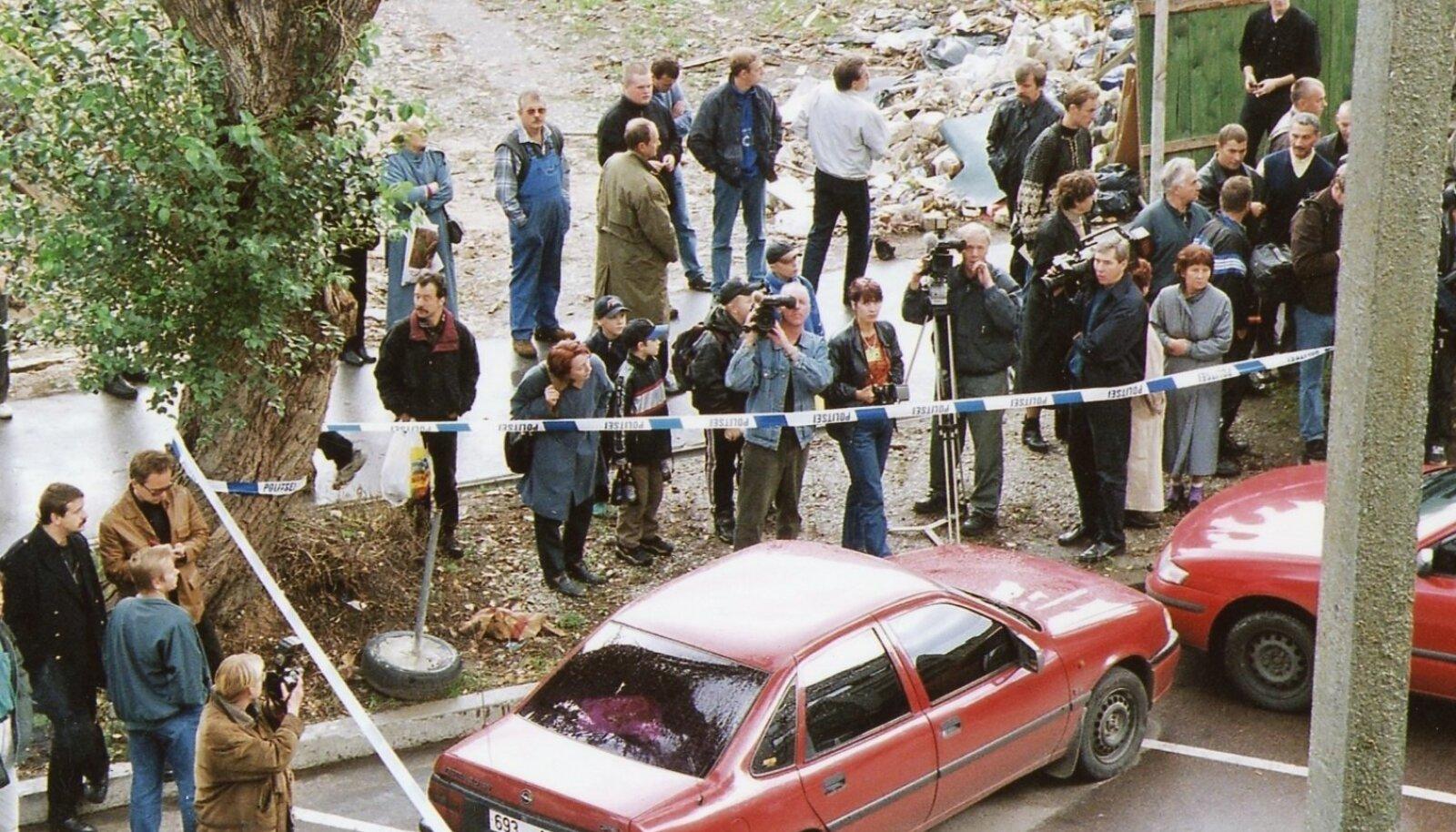 Mait Metsamaa mõrv Lastekodu tänaval 12.10.1999